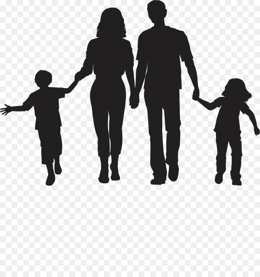 Silhouette clip art day. Clipart family