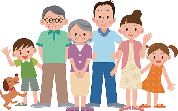 collection of pictures. Family clipart