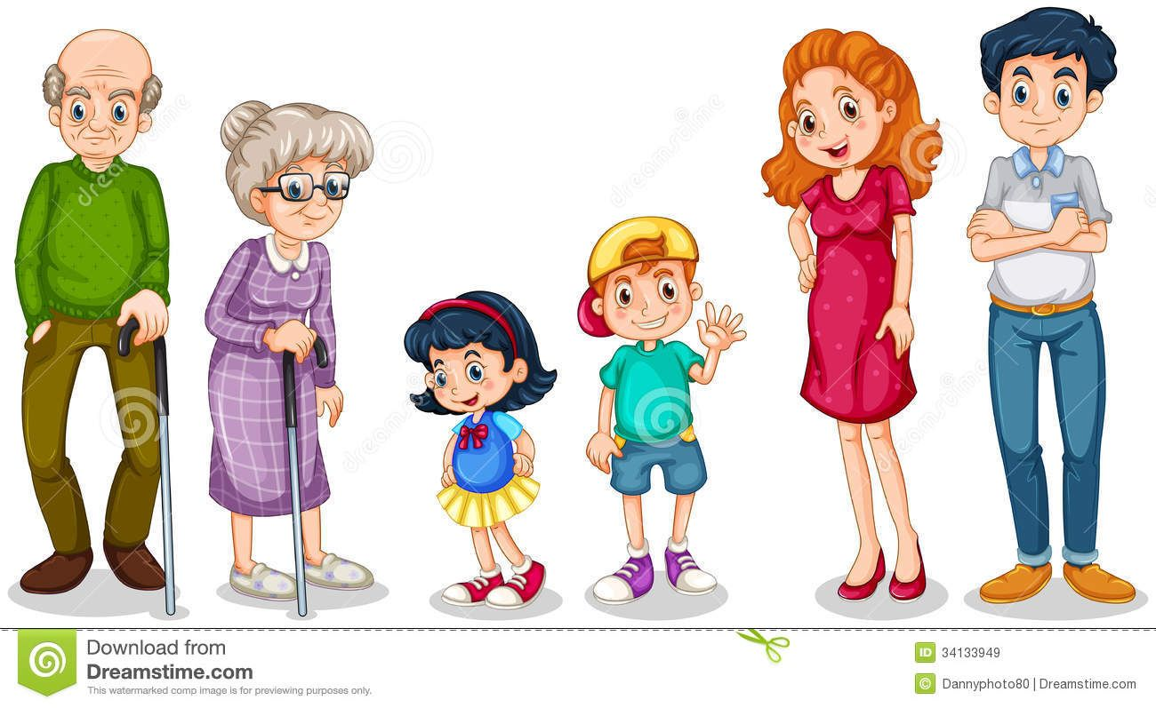 Members faces first pinterest. Family clipart