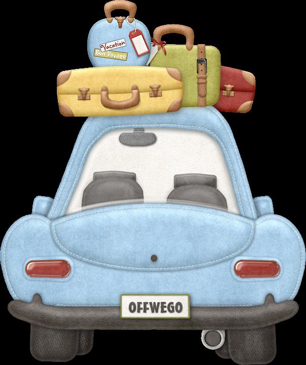 Carro nibus metr e. Luggage clipart bon voyage