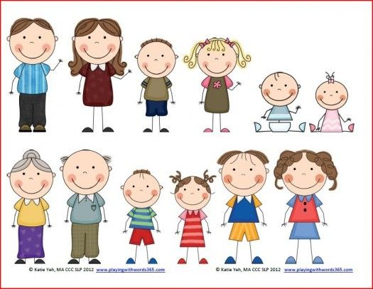Members kid my families. Family clipart boy