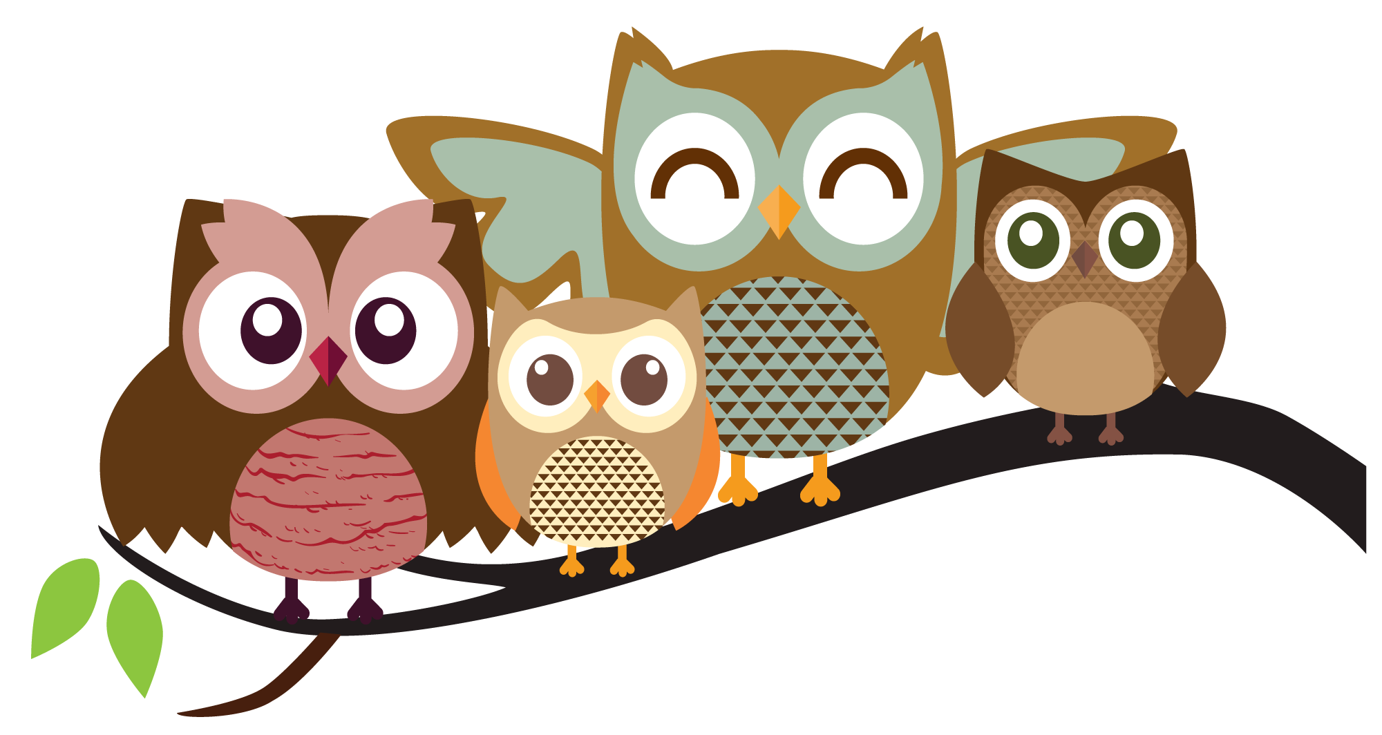 Pictures cartoons colorful . Owls clipart brown owl
