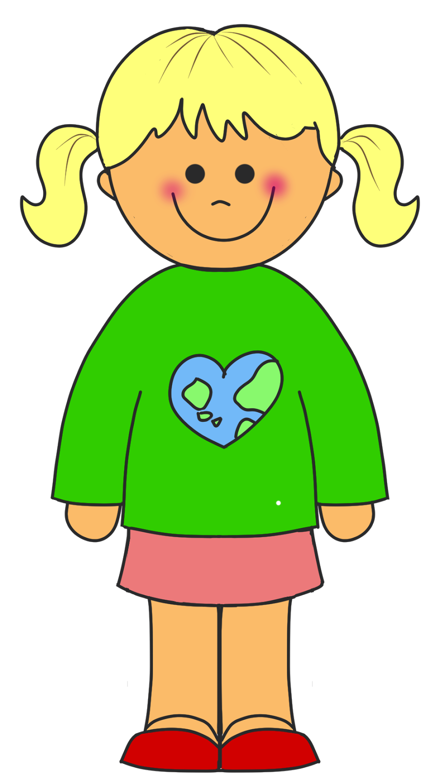 Little girls educasong free. Singer clipart toddler