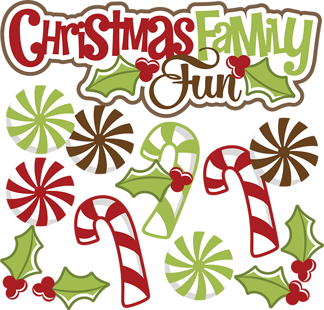 Fun svg file candy. Clipart family christmas