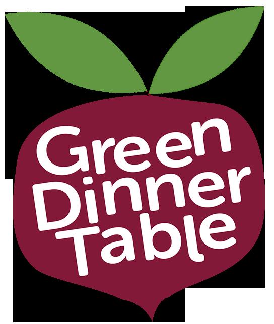 Green Dinner Table