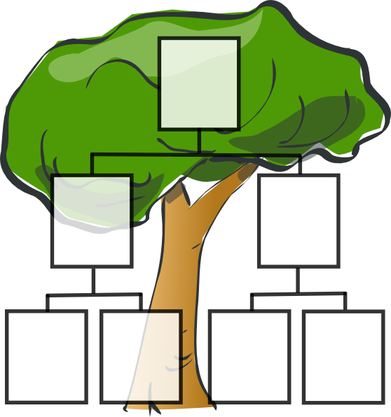 Clip art at clker. Words clipart family tree