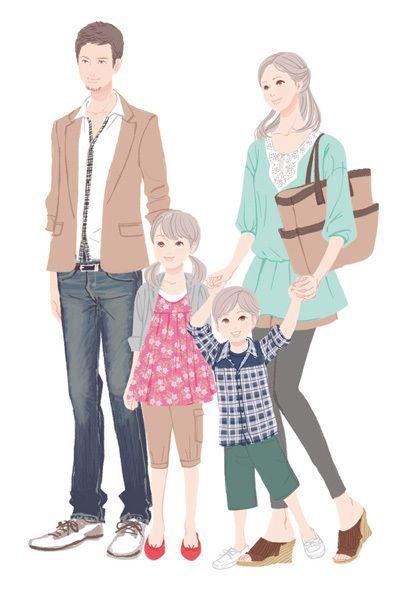Fashion clipart family. X free clip art