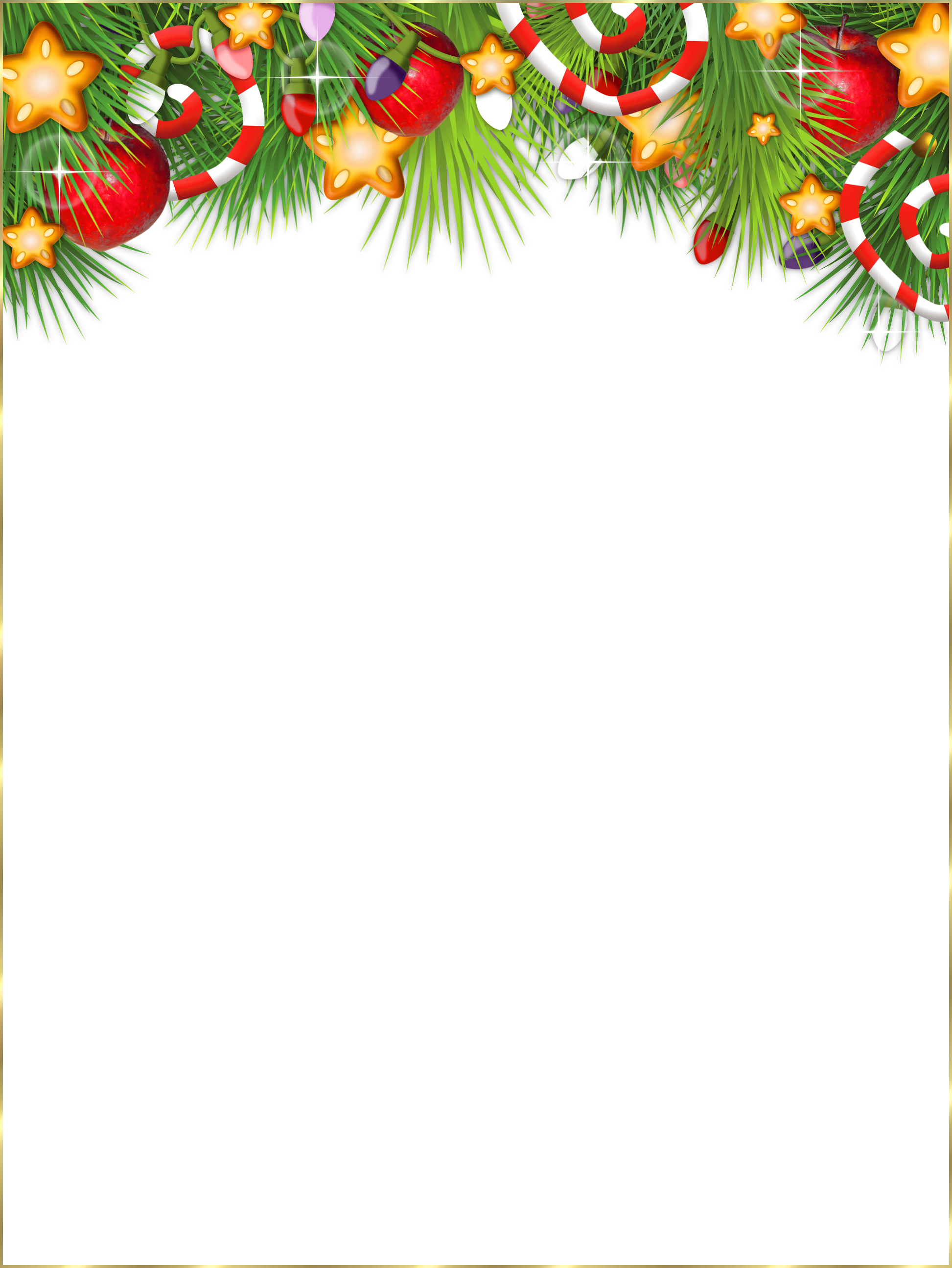 Cute transparent christmas photo. Frame clipart holiday