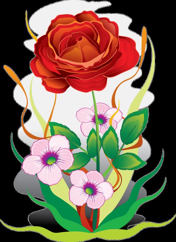 Clipart rose chalkboard. Fleurs flores flowers bloemen