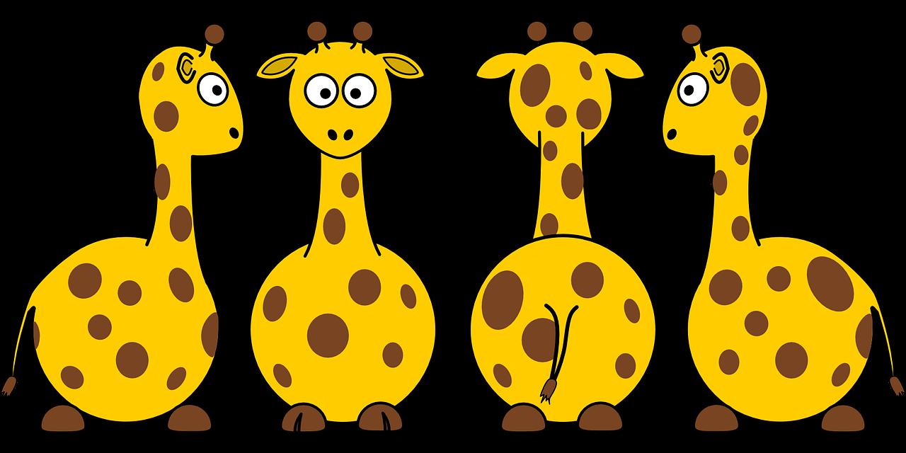 Giraffes well clinic san. Giraffe clipart family