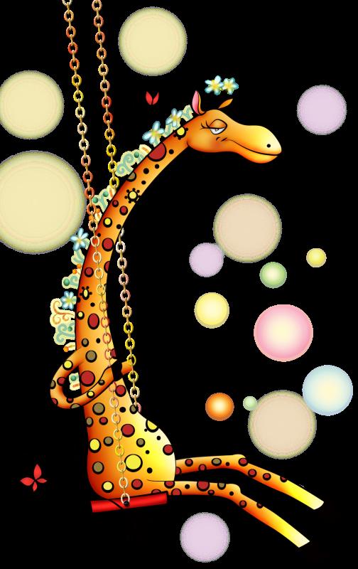 Giraffe clipart family.  muita fofuraaaaaaaaaa animais