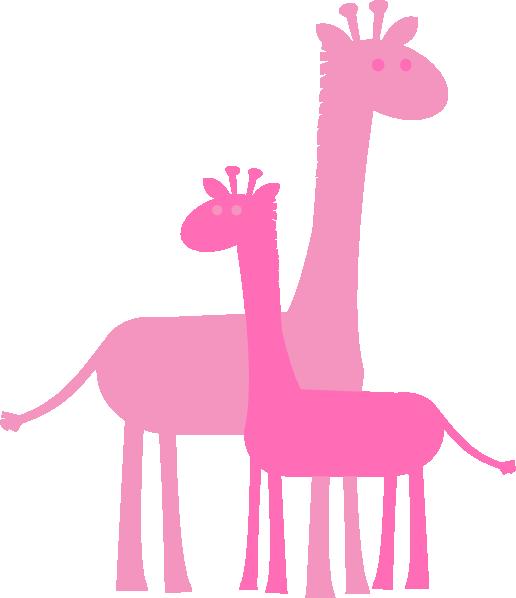 Birthday girl giraffes clip. Family clipart giraffe