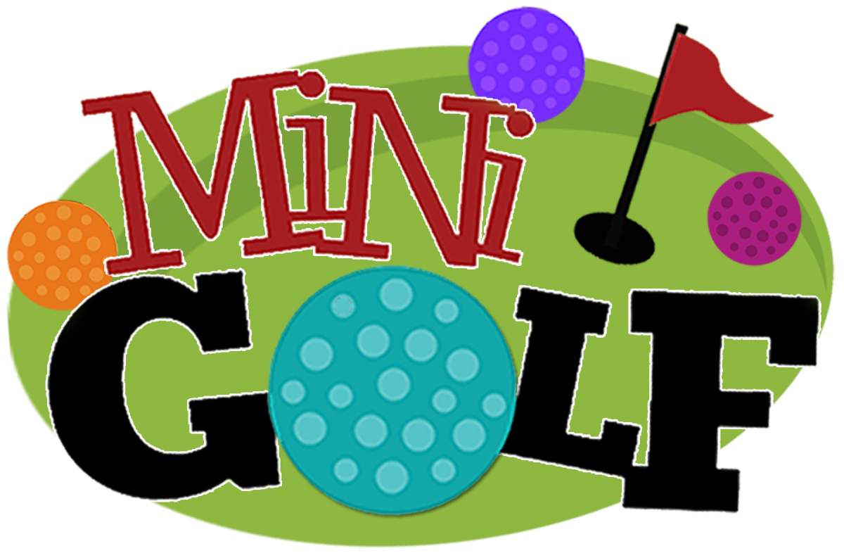 golfer clipart mini golf course