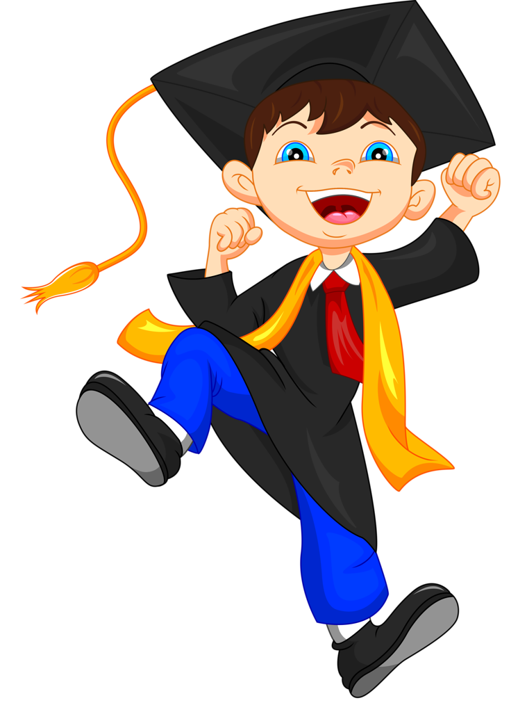Preschool clipart graduation.  png pinterest crafts
