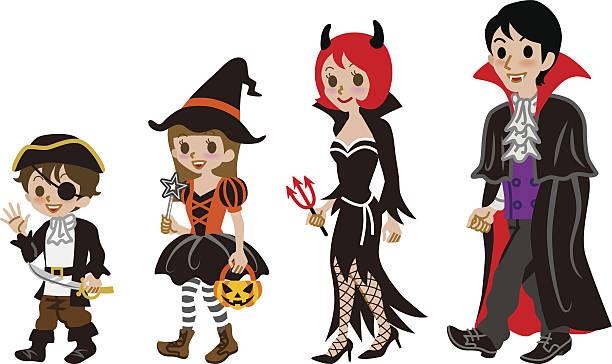 Clip art arts for. Clipart halloween family