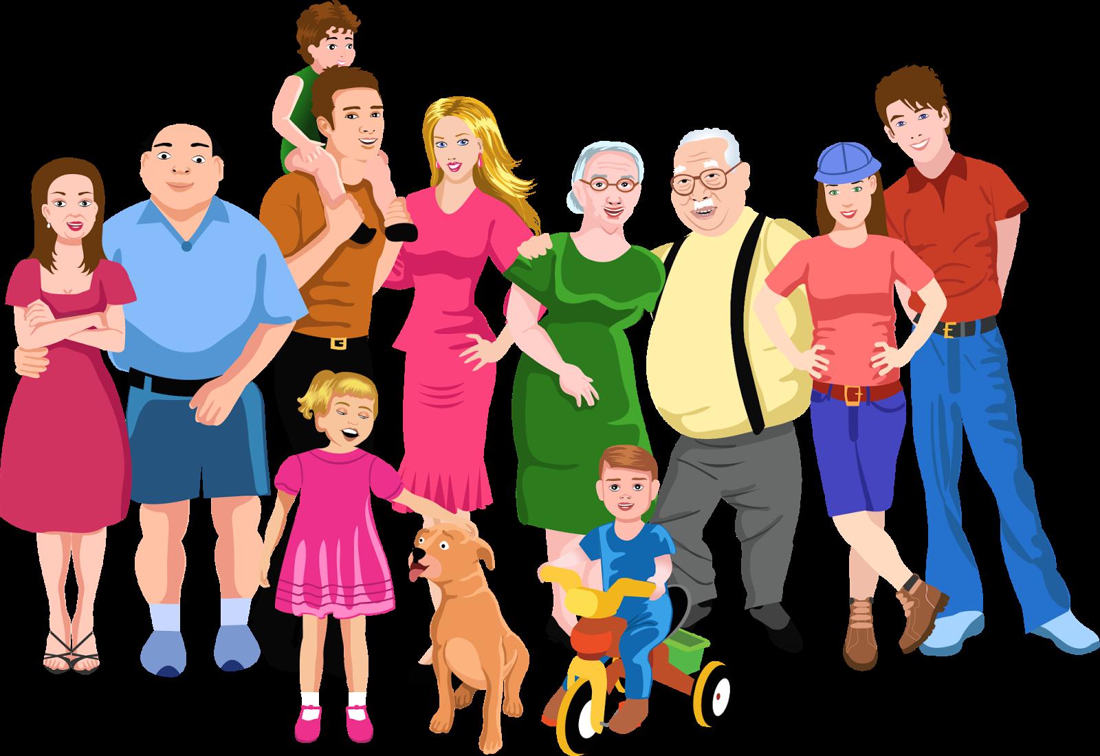 Families clipart teacher. Familia grande google search