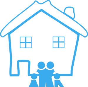 Free home cliparts download. House clipart family