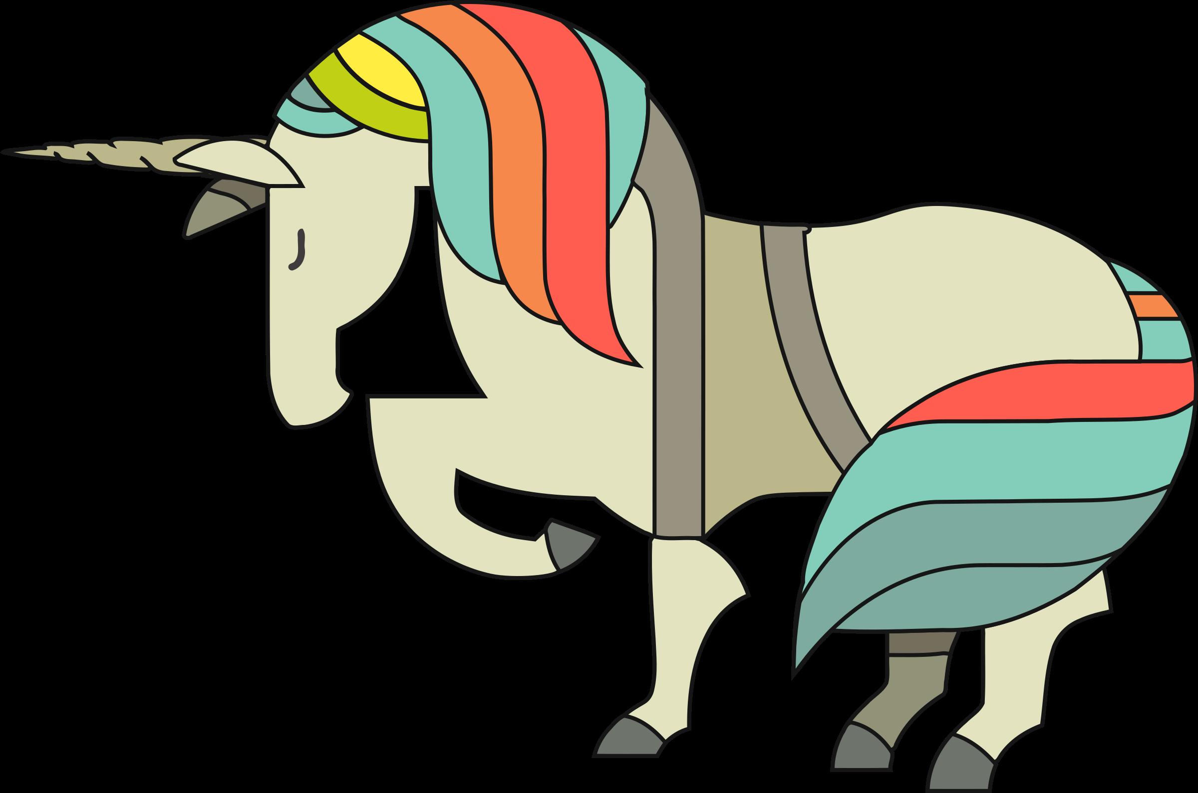 clipart unicorn family