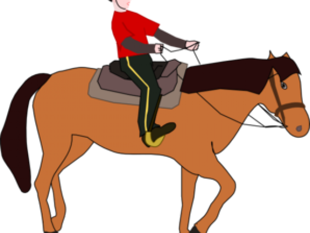 Horse and rider at. Wagon clipart donkey cart