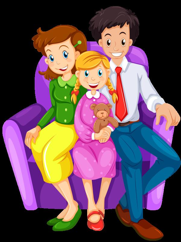 Family house clip happy. Families clipart art