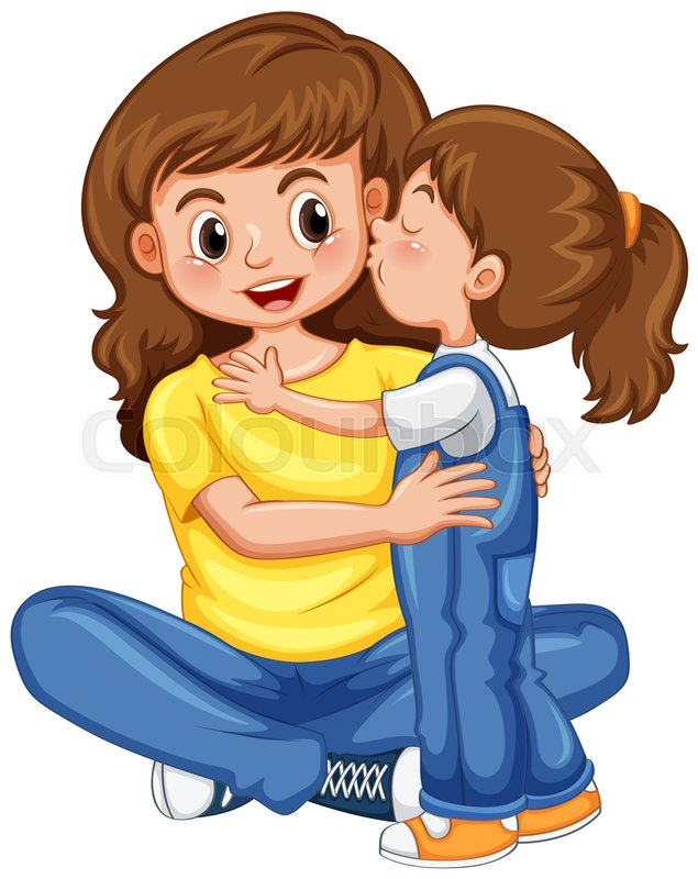 Families clipart kiss. Free family download clip