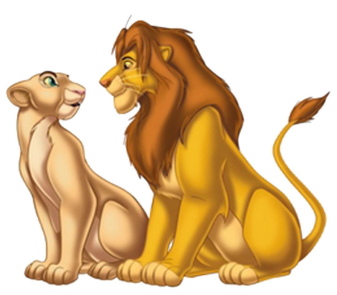 Image simbanala png the. Families clipart lion king
