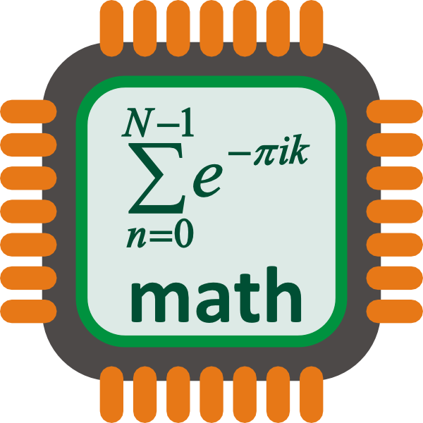 Math processor clip art. Electronics clipart computer chip