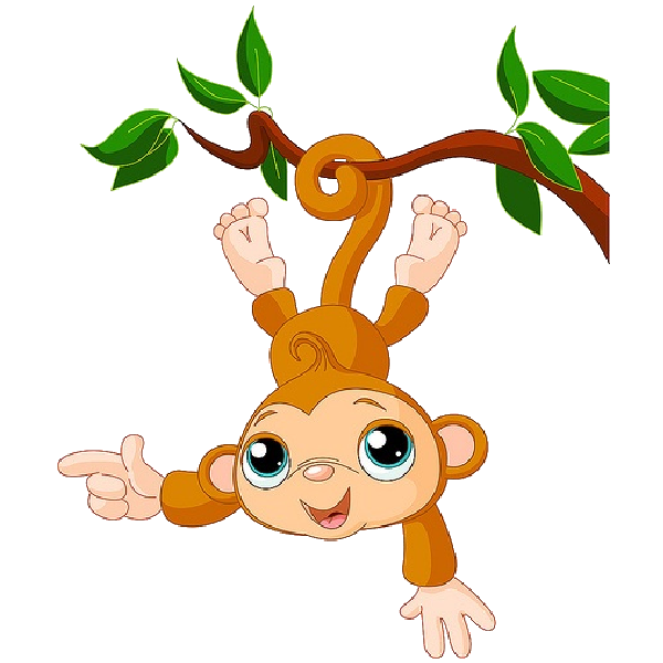 Baby monkey face clip. Feast clipart child