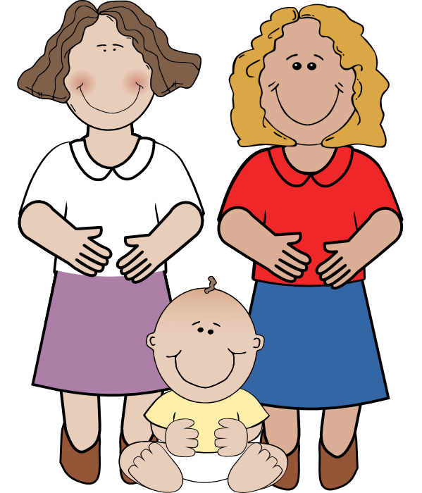 Family clipart technology. Free of pregnant women