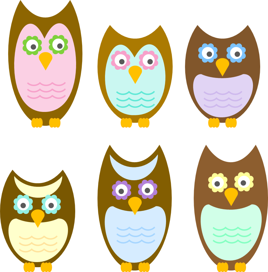 The life of party. December clipart owl