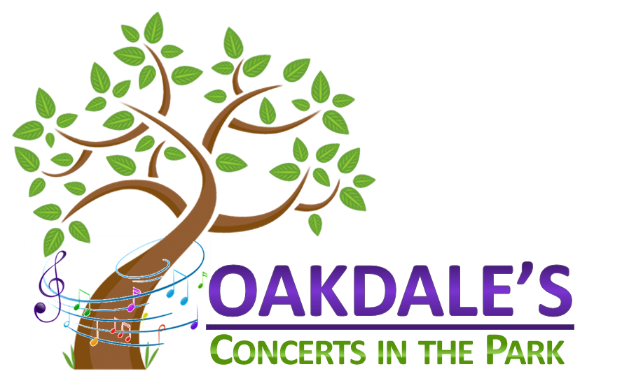 Concerts in the oakdale. Clipart park country park