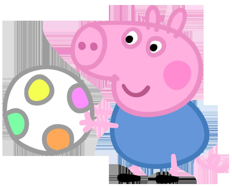 Clipart pig family. Bb ball peppa pinterest