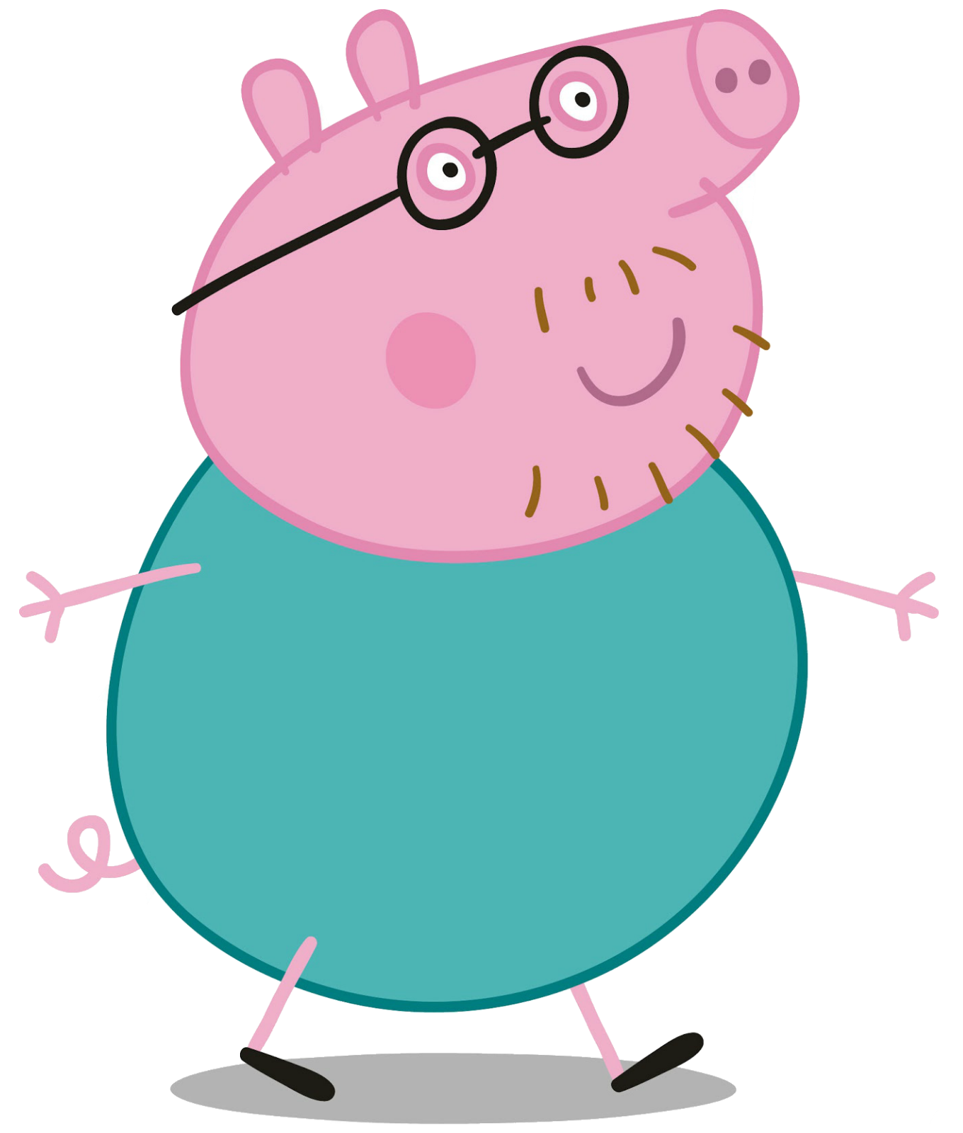 families clipart pig
