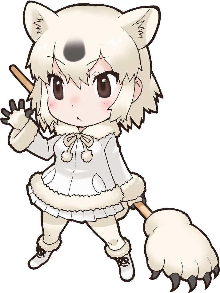 Bear nexon game japari. Wolves clipart polar fox
