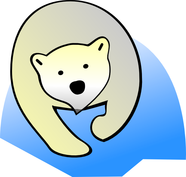 Clip art at clker. Family clipart polar bear
