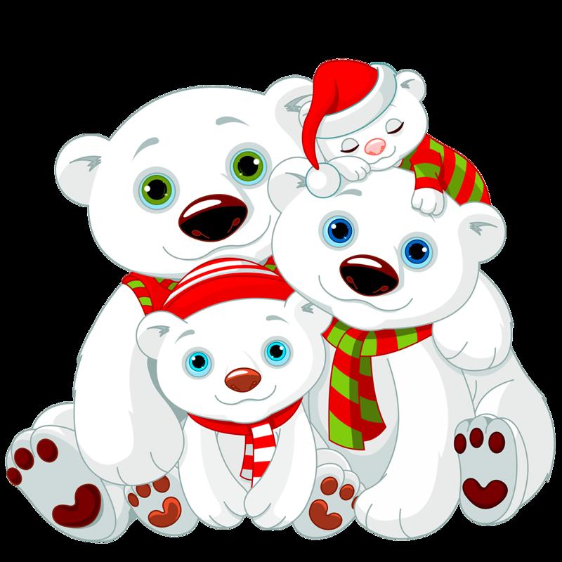 png pinterest clip. Holiday clipart polar bear