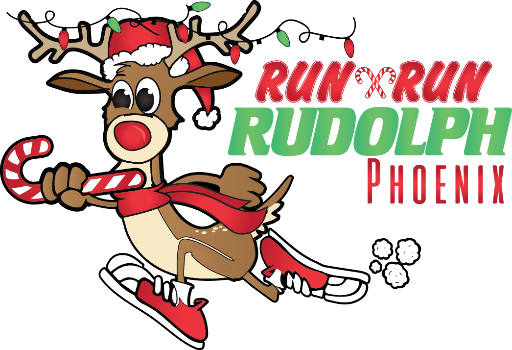 Race clipart road run. Phoenix rudolph half marathon