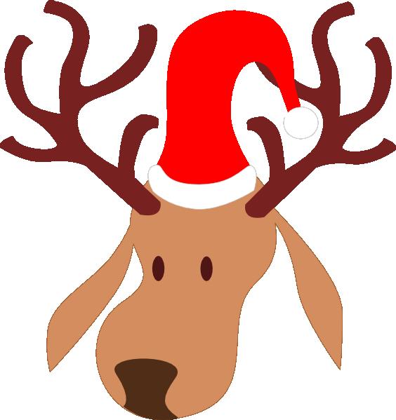 Clipart reindeer large. Clip art at clker