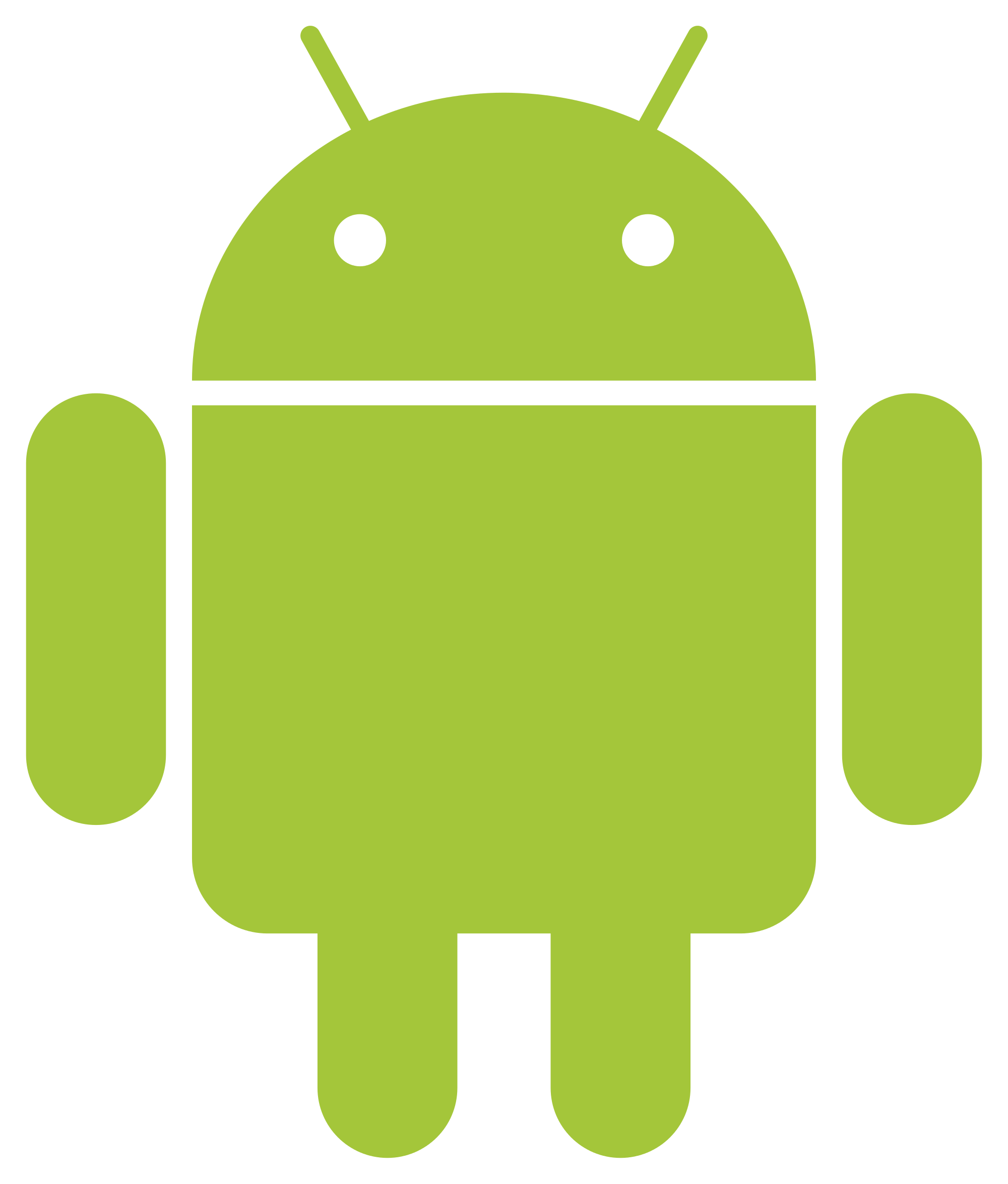 Android green transparent png. Family clipart robot