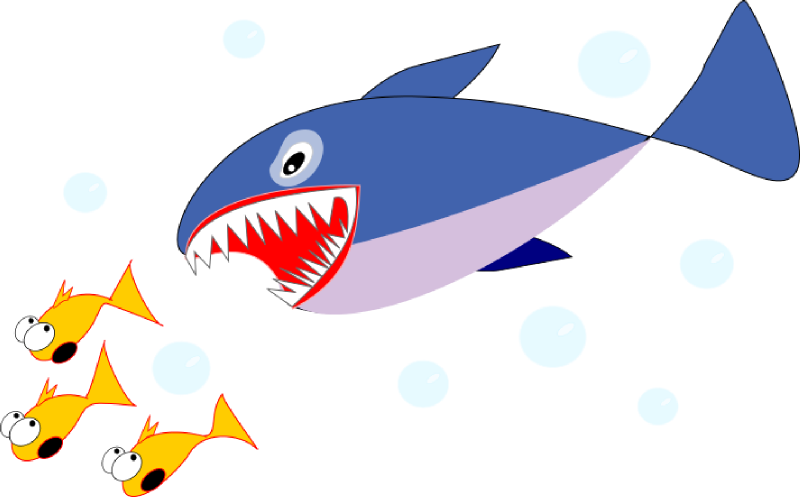 Clipart fish shark.  collection of eating