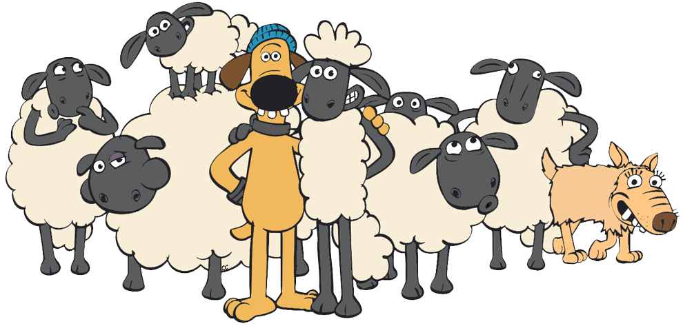 Shaun the sheep movie. Ham clipart cartoon