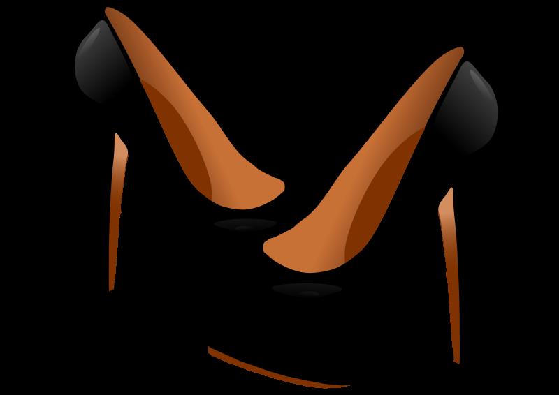 Fashion shoe panda free. Heels clipart stilettos