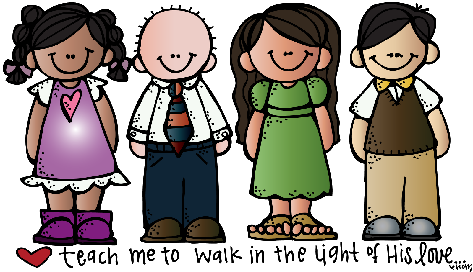 Cute free clip art. Friends clipart teacher