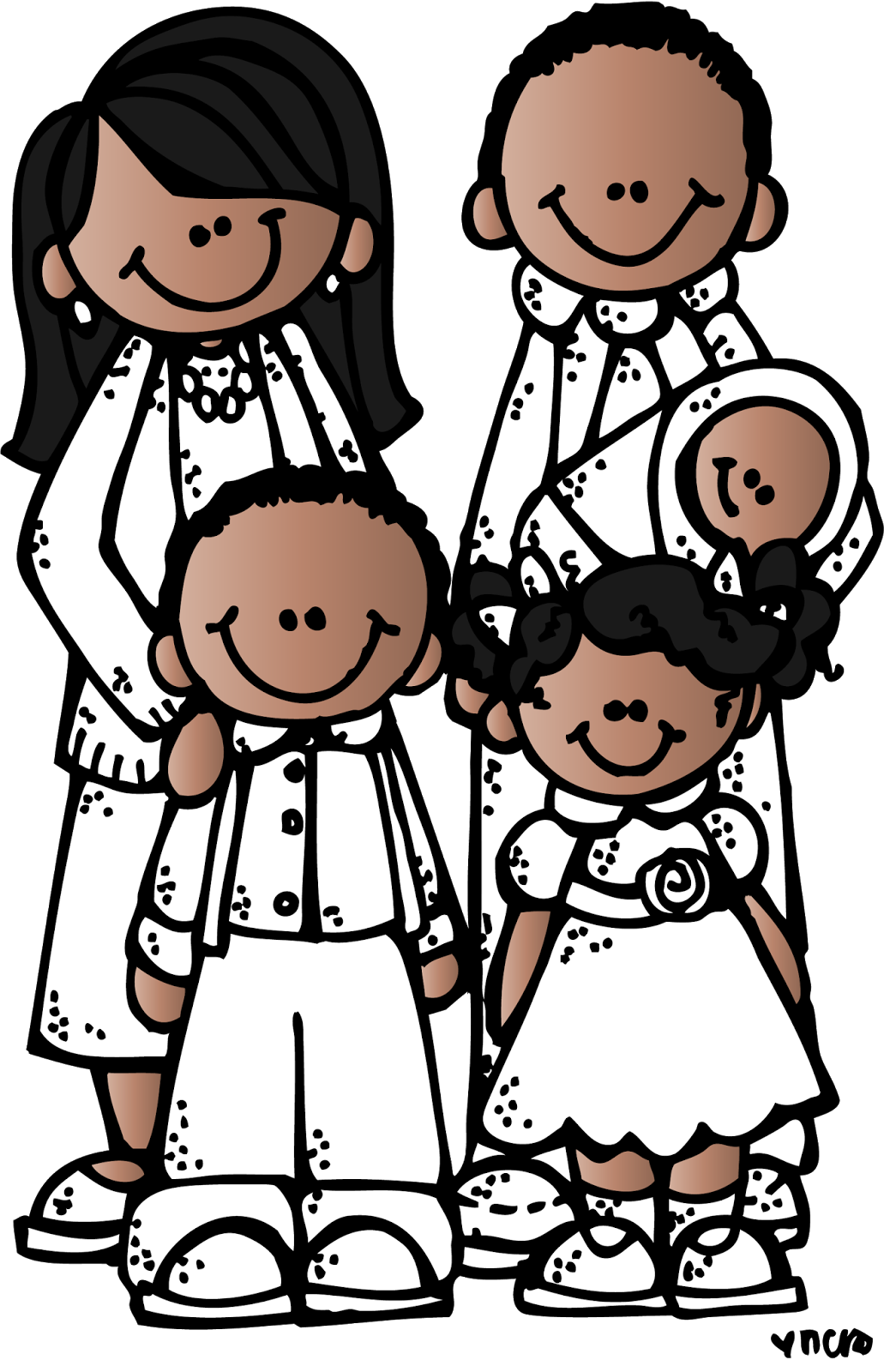 Image result for melonheadz. Lds clipart family