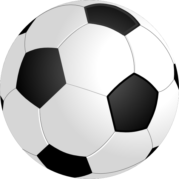 Football clipart shadow. Soccer no clip art