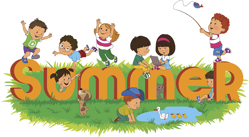 collection of things. Hiking clipart summer fun kid