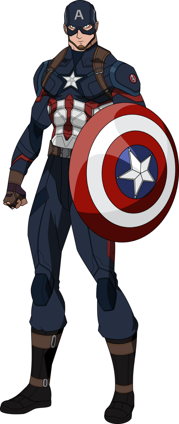 Leader clipart superhero. Captain america civil war