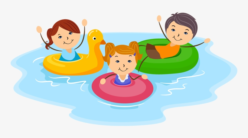 Image result for cartoon family swim