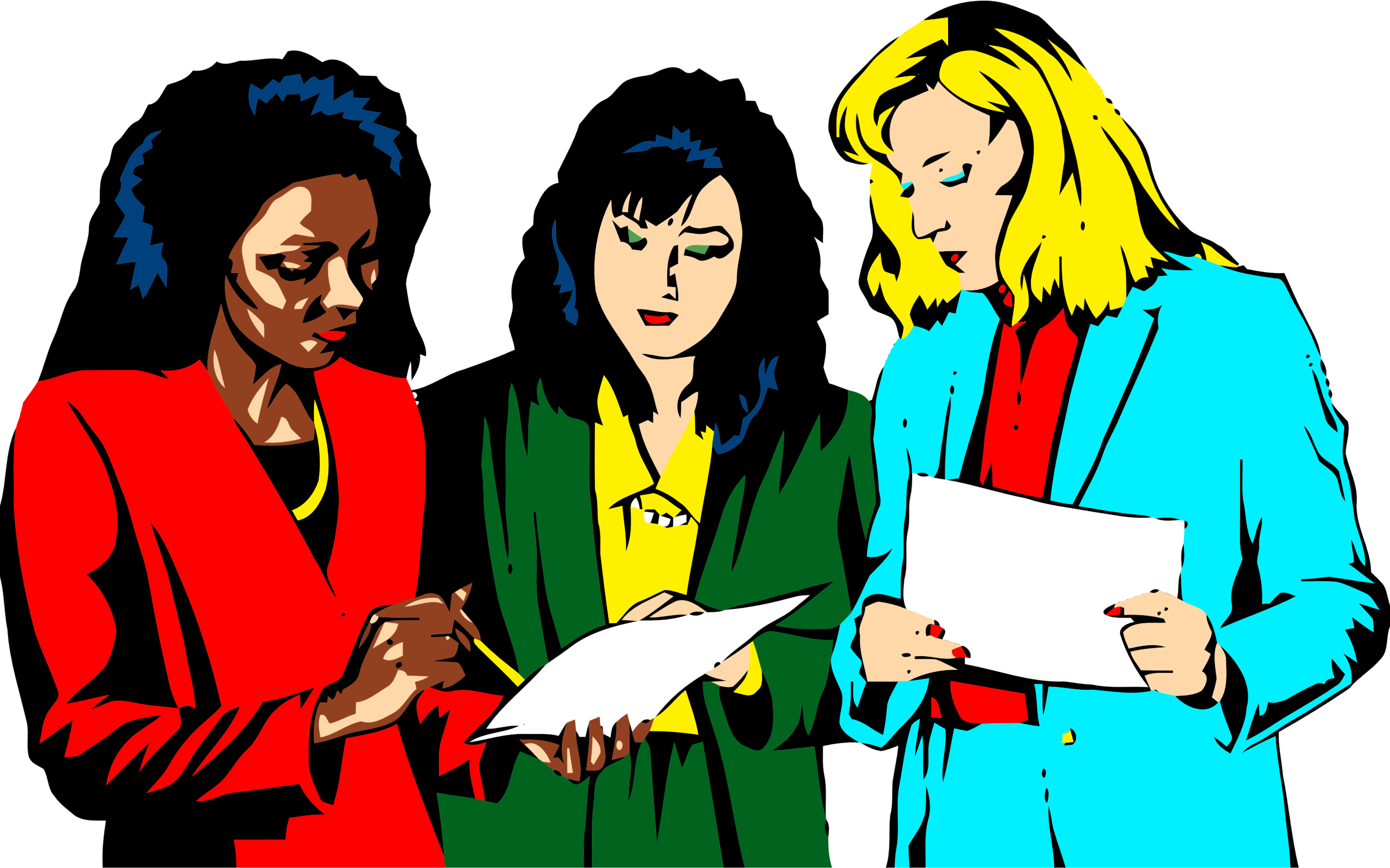 Women big image png. Teamwork clipart person