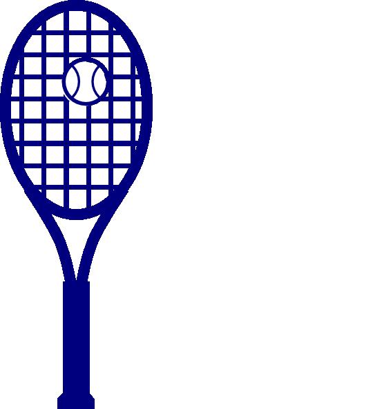 Families clipart tennis. Blue racket clip art
